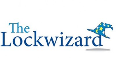 The Lockwizard Locksmith logo │ Locksmith Marlborough │ TheLockWizardRWB
